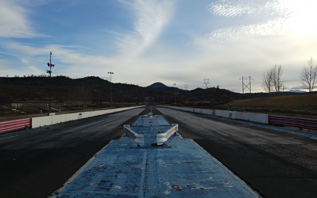 Medford Dragstrip Has A New Track Surface!