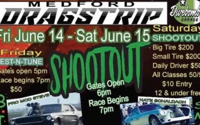 No One Fights Alone Benefit No Prep Shootout, The Beast Jet Car, Medford Cruise Drags – June 14 & 15